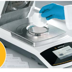 SARTORIUS – inruilacties : weegschalen – moisture analysers – Arium mini