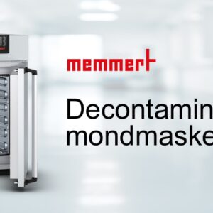 Decontaminatie mondmaskers – Memmert
